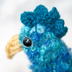 Hand-knitted Funky Chook/Chicken Tea Cosy (Teal) - Great for winter!