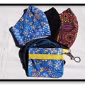 Busy Bees Mask Trio Pack with Matching Carry Pouch