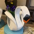 Swan in a Pond Go Cart Tyre Pot Plant Retro Revival Recycle