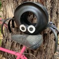 Ipsy the Spider Go Cart Tyre Pot Plant Retro Revival Recycle