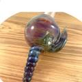 Handmade glass shell sculpture
