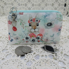 Coin Purse - Women's/Girls for Coins, Cards,Jewellery etc - Cute Bunny
