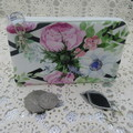 Coin Purse - Women's/Girls for Coins, Cards,Jewellery etc - Geometric Floral