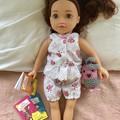 """Doll Clothes Summer Pj's 45cm 18"""" Doll OG AAG"""
