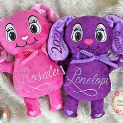 Personalised Bunny Plushie - Easter Bunny