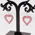 Little Room In Your Heart Torch-Fired Enamel Copper & Sterling Silver Earrings
