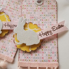 Easter Bunny Gift Tags - 3 pack