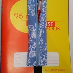Pencil Case Book Mark