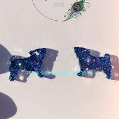 Resin PUG Earrings ~ Variety of colours
