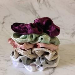 Handmade soft hair Scrunchies, hair accessories, scrunchie, Adult/kids Scrunchie
