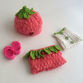 Doll 33cm - Strawberry Shortcake Outfit + Mini Me Doll