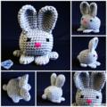 NOW FREE SHIPPING Bunny Rabbit, toys, desk deco, pin cushion