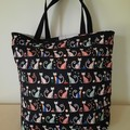CAT TOTE - WATER RESISTANT LINING