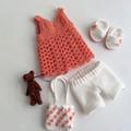 Doll 33cm - Cotton Beach Outfit + Little Bear