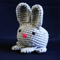 Bunny Rabbit, toys, desk deco, pin cushion