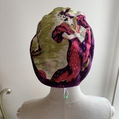 Unique reversible Scrub Hat - Flamingo Dancer