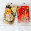 Scarves - light weight and pretty, autumn tones