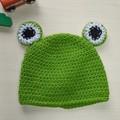 Frog beanie - 3-6 months ~42cm