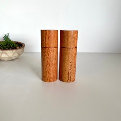 Pepper Grinder, Pepper Mill, Salt and Pepper mill set, Australian Sheoak wood, G