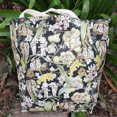 MAY GIBBS TOTE - WATER RESISTANT LINING