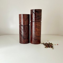 Pepper Grinder, Pepper Mill, Salt and Pepper mill set, Jarrah burl, Mother's Day