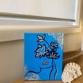 Flower Face Canvas