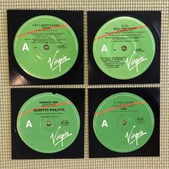 Virgin Records Coasters Set of 4