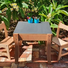 Children's Table and Chairs,  Kids Wooden Table & Chairs,