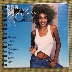 Whitney Houston 45 Notebook