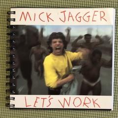 Mick Jagger 45 Notebook