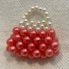 Handmade Bead Bag