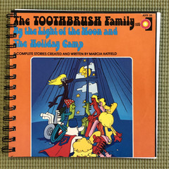 The Toothbrush Family 45 Notebook