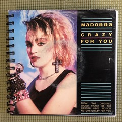 Madonna 45 Notebook