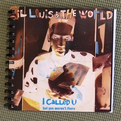 Lil Louis & The World 45 Notebook
