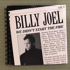 Billy Joel 45 Notebook
