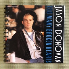 Jason Donovan 45 Notebook