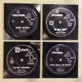 60's Record Coasters Set of 4