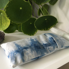 lavender eye pillow, weighted eye pillow, yoga eye pillow, flax eye pillow, self