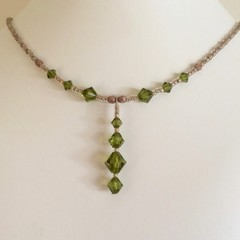 Swarovski Crystal Necklace: Landon
