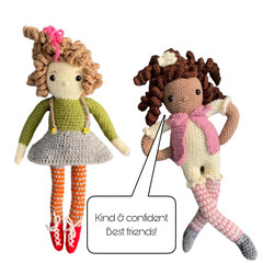 Kind Keddy & Confident Connie- from the Red George cuddle crew