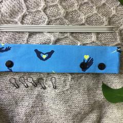 DPN Holder, DPN Cozy, 6 inch, 8 inch, 20cm, 15cm sock knitting, gifts for knitte