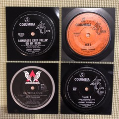 Johnny Farnham Coasters Set of 4