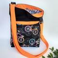 BICYCLE CROSS BODY BAG
