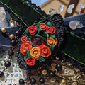 Romantic vampiric gothic Rose eye Velvet Choker