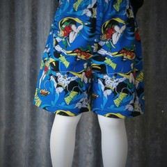 """Kids Novelty Shorts- """"Batman & Robin"""""""