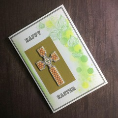 Easter Card with 3D Celtic Cross