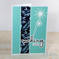 Sending Hugs Card, Friendship Card, Get Well Card