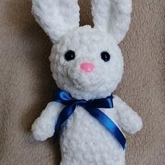 Super soft crochet Easter bunny
