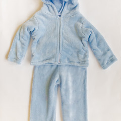 Boy's winter fleecy outfit