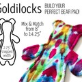 Made to Order (Custom) Cloth Pad (Shape - Versodile Goldilocks )